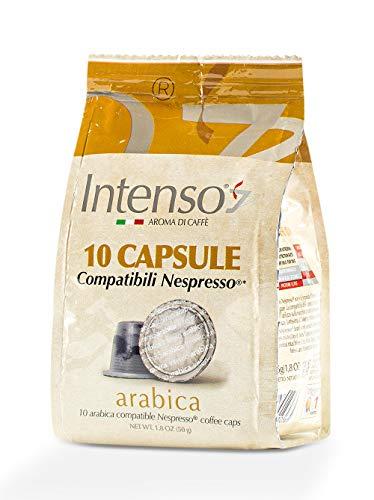 Intenso Arabica Espresso, 10 Kapseln im Beutel (Nespresso® kompatibel)