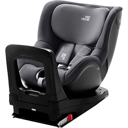 Britax Römer Kindersitz 61 - 105 cm (≈ 3 Monate bis 4 Jahre), DUALFIX Z-LINE Autositz ISOFIX, storm grey