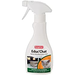 Beaphar Spray Éducateur pour Chat 250 ml - Lot de 2