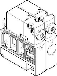 CPVSC1-M1H-J-P-M5 (527553) Magnetventil Ventilfunktion:5/2 bistabil Betätigungsart:elektrisch