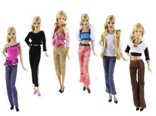 Xmas Outfits - Barwa® Random Style 5 Sets Fashion