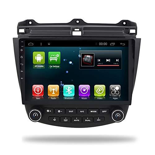 Car Radio GPS Player Android 8.1 for Honda Accord 7 2003-2007 Navi IPS DSP Multimedia Head Unit Audio Stereo Navigation WiFi BT (4+32G Android8.1 for Accord 7) (Honda Accord Stereo-2003)