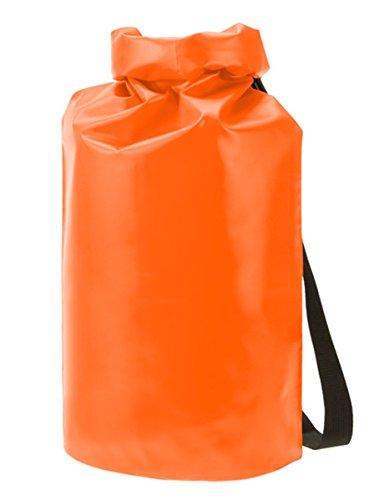 HALFAR® HF9786 Drybag Splash Freizeittaschen Sport- & Reisetaschen Tasche, Farbe:Black Matt orange