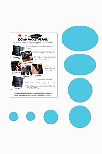 Doudoune Patch de réparation kit (Autocollant) Taupe