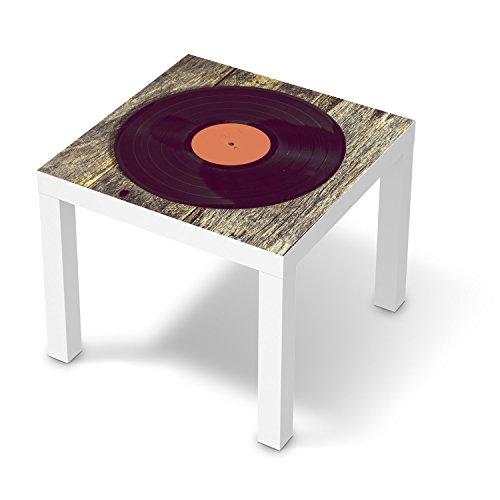 Folie für IKEA Lack Tisch 55x55 cm | Dekor Möbel-Aufkleber Folie Möbel-Tattoo | Möbel renovieren Wohnideen | Design Motiv Vinyl