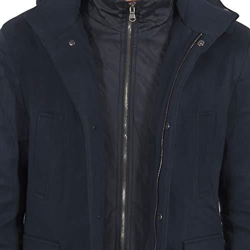 purchase cheap 9c7c3 eae22 Cappotto Uomo Invernale Elegante Giubbotto Corto in Lana ...