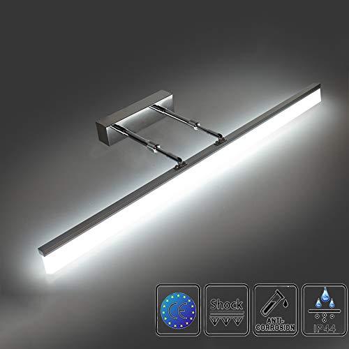 Lampada da specchio a led 12w 50cm lampada da specchio bagno 1200lm bianca neutra 4000k applique bagno impermeabile ip44