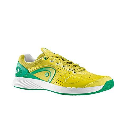 Head - Sprint Team Clay Hommes Édition limitée (jaune/vert) - EU 39 - UK 6 Vert