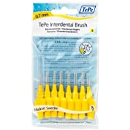 Interdental Brush Yellow 0.7 mm Pack of 8