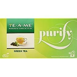TE-A-ME Kashmiri Kahwa Green Tea,-25 Tea Bags+ Natural Green Tea, 25 Tea Bags FREE