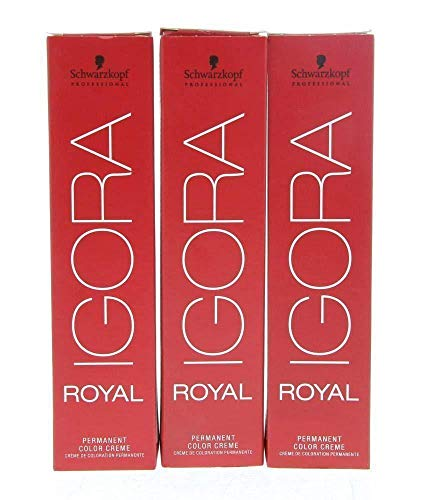 Schwarzkopf Igora Royal Tinte Permanente, Tono 8-1 - 60 ml