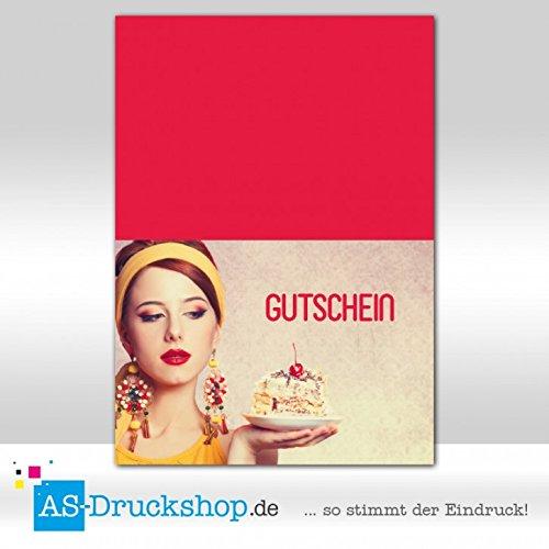 Gutschein Bäckerei Kirsche / 50 Stück/DIN A6