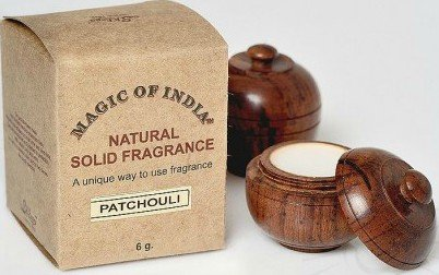 Patchouli Solid Perfume (Magic of India Patchouli 6 gr solid perfumes)