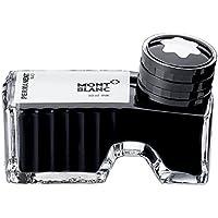 Montblanc 107755 Tintero Permanent Black – Tinta para pluma de alta calidad en lujoso diseño, 1 x 60 ml