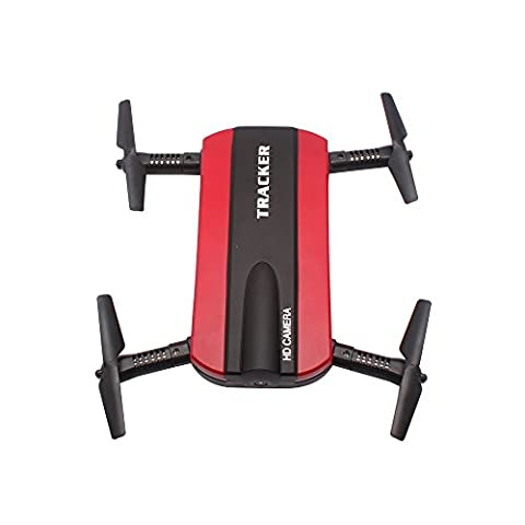 Drohne Togather Faltbar Taschendrohne RC Quadcopter Drone mit HD Kamera WIFI FPV Höhehalten Funktion (Quadrocopter Android)