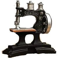 OSRAME Decoracion Vintage Adornos Suerte Retro Antigua Resina Máquina De Coser Moda Hogar Resina Creativa Decoración
