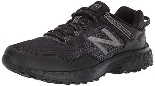 New Balance 410v6 Trail, Zapatillas para Carreras de montaña para Hombre, Negro Black La6, 44 EU