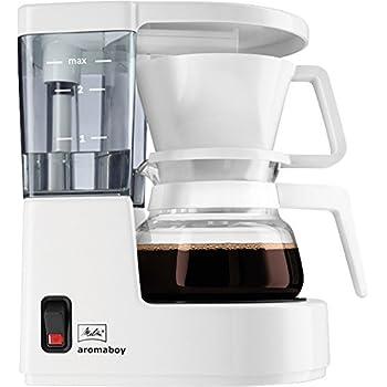 Melitta Kaffeeautomat Aromaboy Weiss 1015-01, Fassungsvermögen 2 Tassen