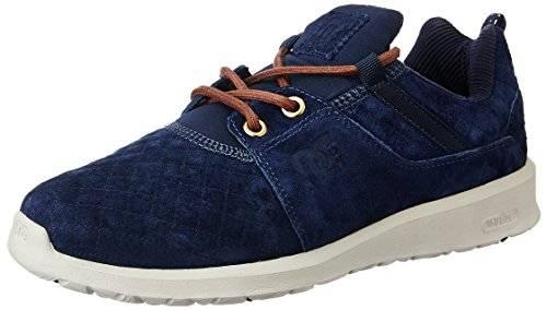 DC Shoes Heathrow Lx, Baskets Basses Homme Bleu - Navy Blazer