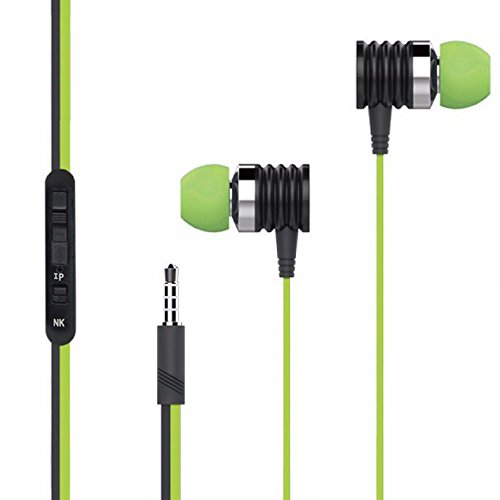 Exclusive Deals, Great Indian Sale, Golden Hour Deals, BELL Master Series Headset Subwoofer In-Ear Headphones with Flat Cables and Universal Mic with Converter any iPod, iPhone, iPad, Android device, mp3 player, CD player, portable DVD player, PSP, MD, radio or laptop computer (Green & Black)  available at amazon for Rs.269