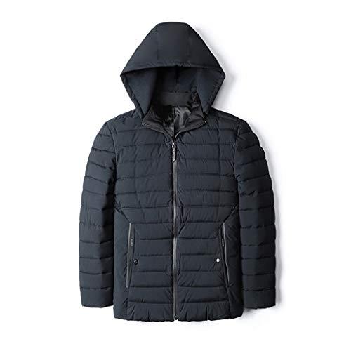 Luckycat Herren Herbst Winter warme beiläufige Tasche Zipper Hoodie thermische Top Coat Mode 2018
