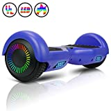 Huanhui Balance Board 6,5' Gyropode Smart Skateboard Électrique, LED Auto-équilibrage, Smart...
