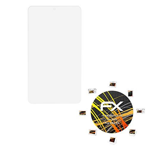 atFolix Schutzfolie kompatibel mit Xoro Pad 9W4 Pro Bildschirmschutzfolie, HD-Entspiegelung FX Folie (2X)