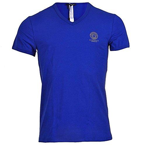 versace-t-shirt-manches-courtes-homme-bleu-bleu-bleu-medium