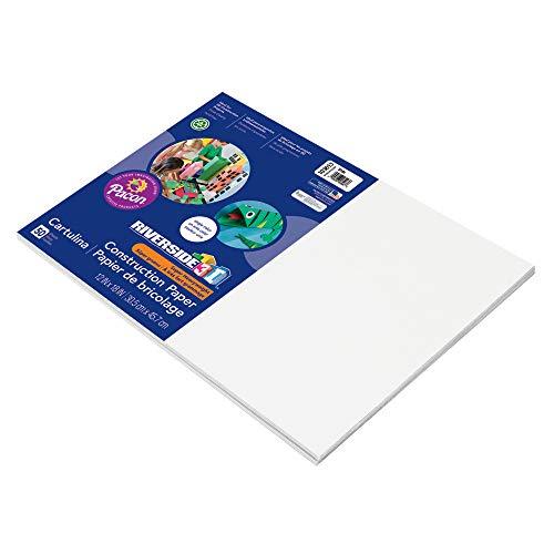Pacon Riverside Konstruktion Papier 12 x 18 weiß