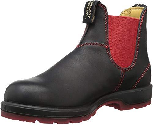 Blundstone Classic 1316, Unisex-Erwachsene Chelsea Boots, Schwarz (Black/Red), 39 EU (6 UK)