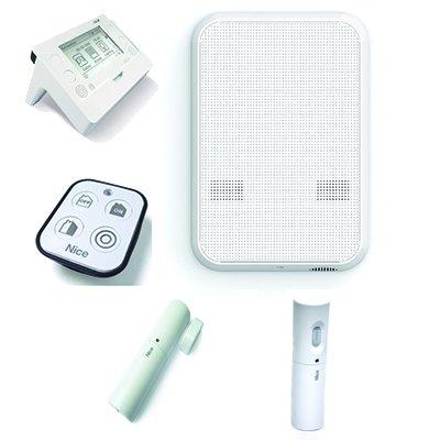 Kit Alarm verkabelt und Via Radio mit Wählscheibe GSM Nice hskit2gc