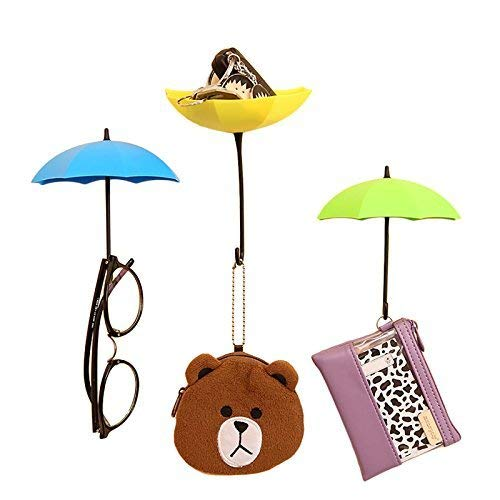 Hindkart Umbrella Key Hat Wall Multipurpose Holder Hanger Hooks