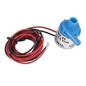 Especificación:   Material: Plástico de ingeniería Color azul Voltaje de entrada: 6V DC Potencia: 3W Número de Impulsor: Multietapa Flujo máximo: 1.5L / min Elevación máxima: 2 m Diámetro de entrada: 9.7mm / 0.38in Diámetro de salida: 7.0mm / 0.28in...