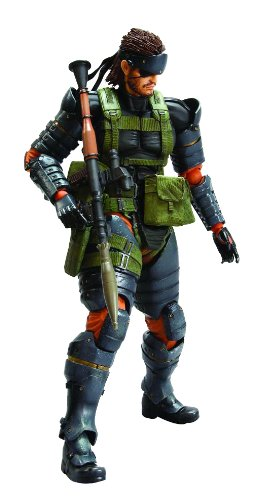 Action Figur Metal Gear Solid Snake Battle Dress Play Arts Kai (Solid Snake Play Arts)