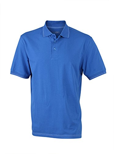 Men's Elastic Polo im digatex-package Royal