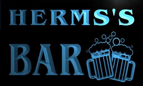 w048820-b-herms-name-home-bar-pub-beer-mugs-cheers-neon-light-sign-barlicht-neonlicht-lichtwerbung