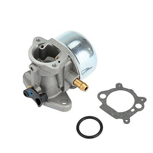 KKmoon Carburatore per Briggs & Stratton 799868 498254 497347 497314 498170 Carb Sostituzione con Guarnizione