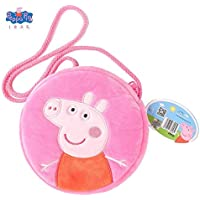 Peppa Pig Bolso™ Peppa Wutz George Bolso monedero para niños Bolso de peluche Juguete de