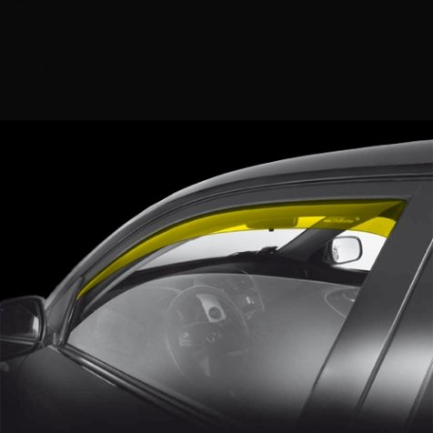 ANTITURBO AIR DEFLECTORS FIAT DOBLO 5-DOOR AND 2-DOOR 2001 2009>