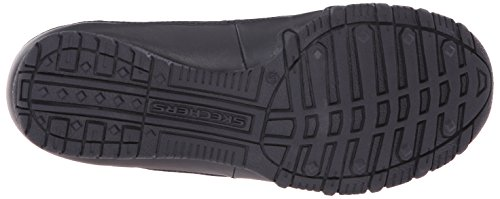 SkechersBikers Pedestrian - A collo basso uomo Navy Leather/Mesh