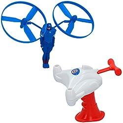 Eolo - Lanzador Helix Flyerz Capitán América - Los Vengadores (ColorBaby 85253)