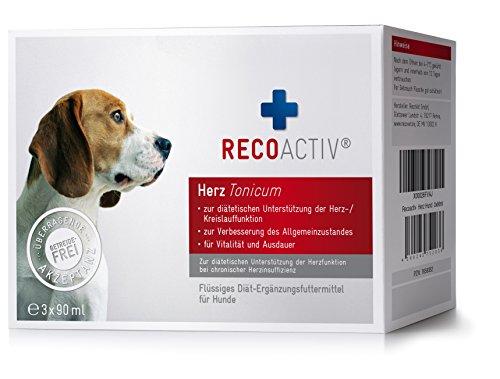 RECOACTIV® Herz Tonicum für Hunde - Kurpackung 3x90 ml