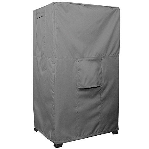 Smoker Cover–titan Serie–wasserdicht schwere Pflicht quadratisch Raucher Displayschutzfolie–Grau