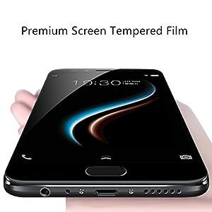 SmartLike Vivo V7 Plus/X20 5D Edge to Edge Full Front Body Cover Tempered Full Glass Screen Protector Guard for Vivo V7 Plus/X20 Black