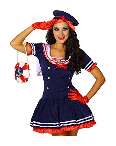 Marine-Kostüm von luxury & good Dessous S-M (Sexy Marine Seemann)