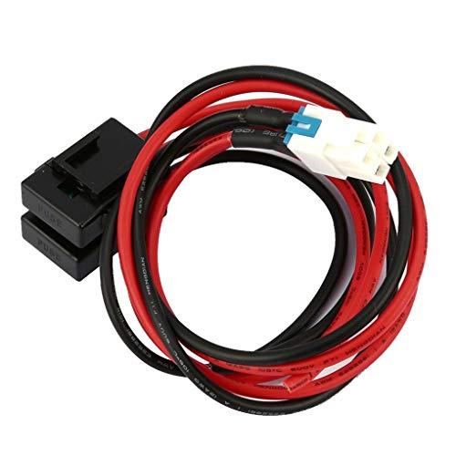 Ben-gi Ersatz für ICOM IC-7000 IC-7600 / FT-450 / TS-480 FT-991 FT-9501M 30A Sicherung, 4-polig Kurzwellennetzanschlussleitung Kabel -