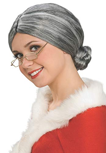 ücke, alte Dame, Erwachsenen-Kostüm, Grau, Einheitsgröße ()