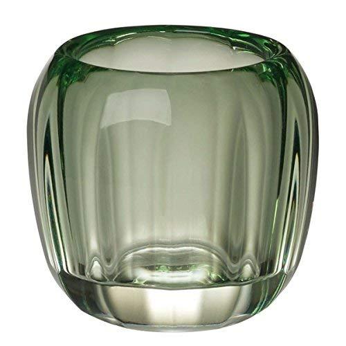 Villeroy & Boch Coloured DeLight Kleiner Teelichthalter Green Apple, 7 cm, Kristallglas, Grün