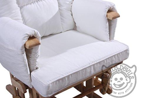 Stillstuhl Supremo Bambino mit loser Fußstütze und Schutzabdeckung, Weiß - 2