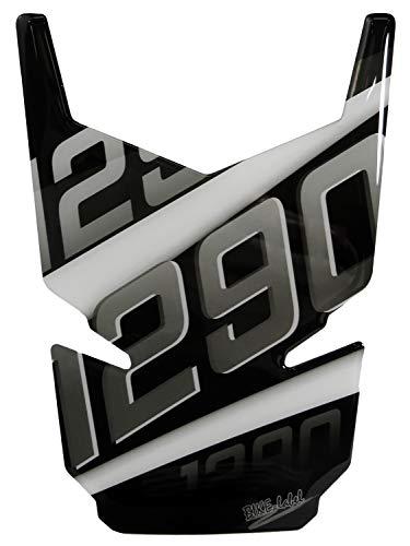 BIKE-label 502545 Tankpad 3D Silver Stripes Tank-Schutz passend für  KTM-1290 Super Duke GT